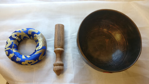 Small Om Singing Bowl