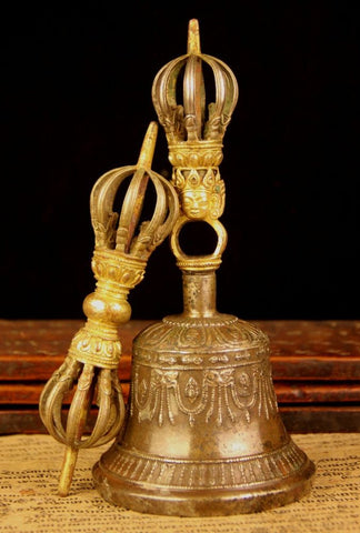 Large Ghanta and Vajra (Bell and Dorjee)