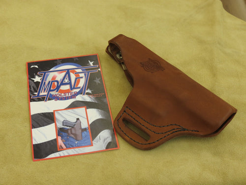 Impact Holster - Brown Left Handed
