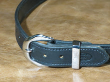 12oz Harness Leather Belt in Black