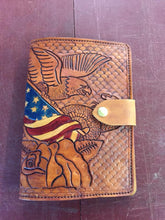 Custom Carved Leather Journal Cover