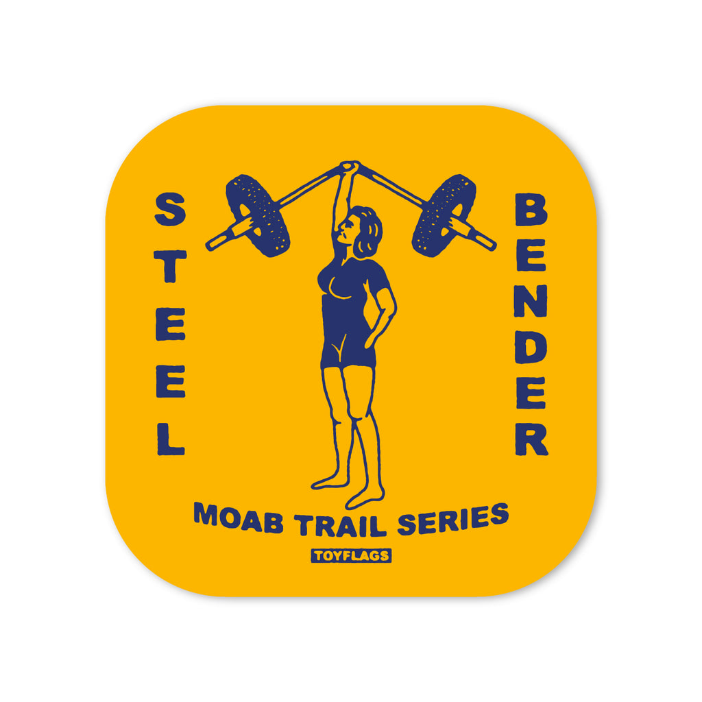 Steelbender Trail sticker