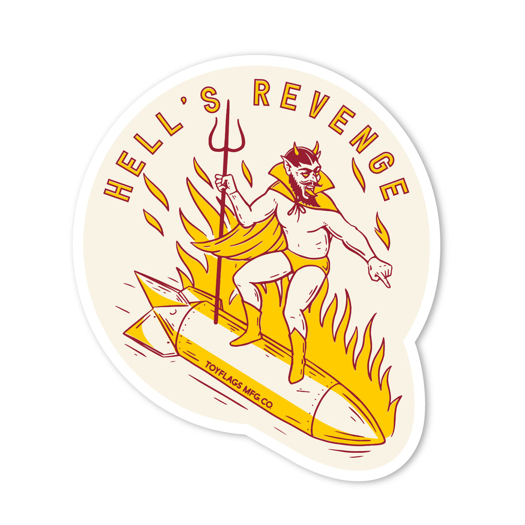 Hell's Revenge Trail sticker