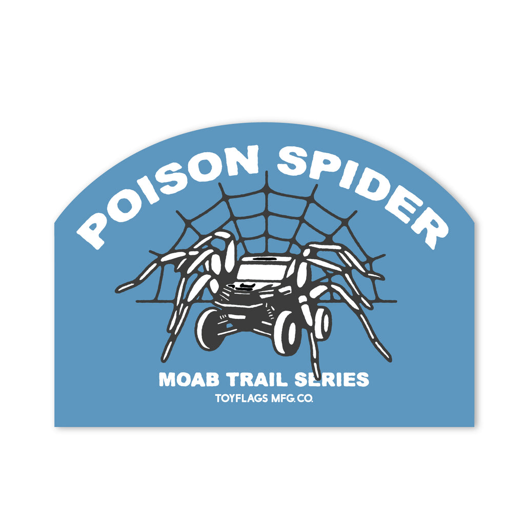 Poison Spider Trail sticker