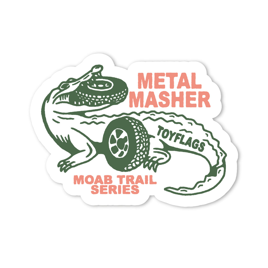 Metal Masher Trail sticker