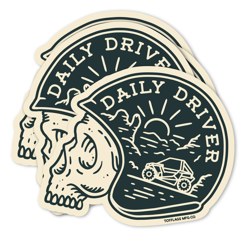 Daily Driver sticker