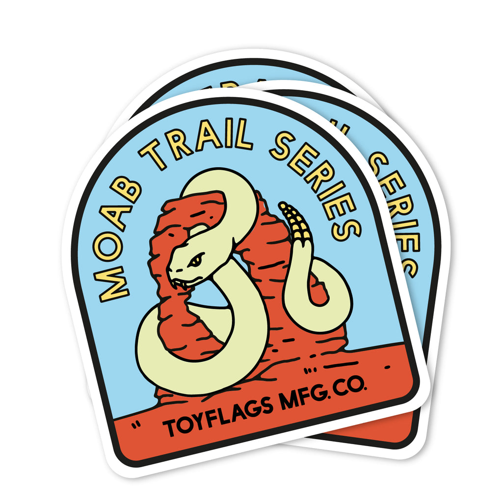 Moab Trail Series sticker