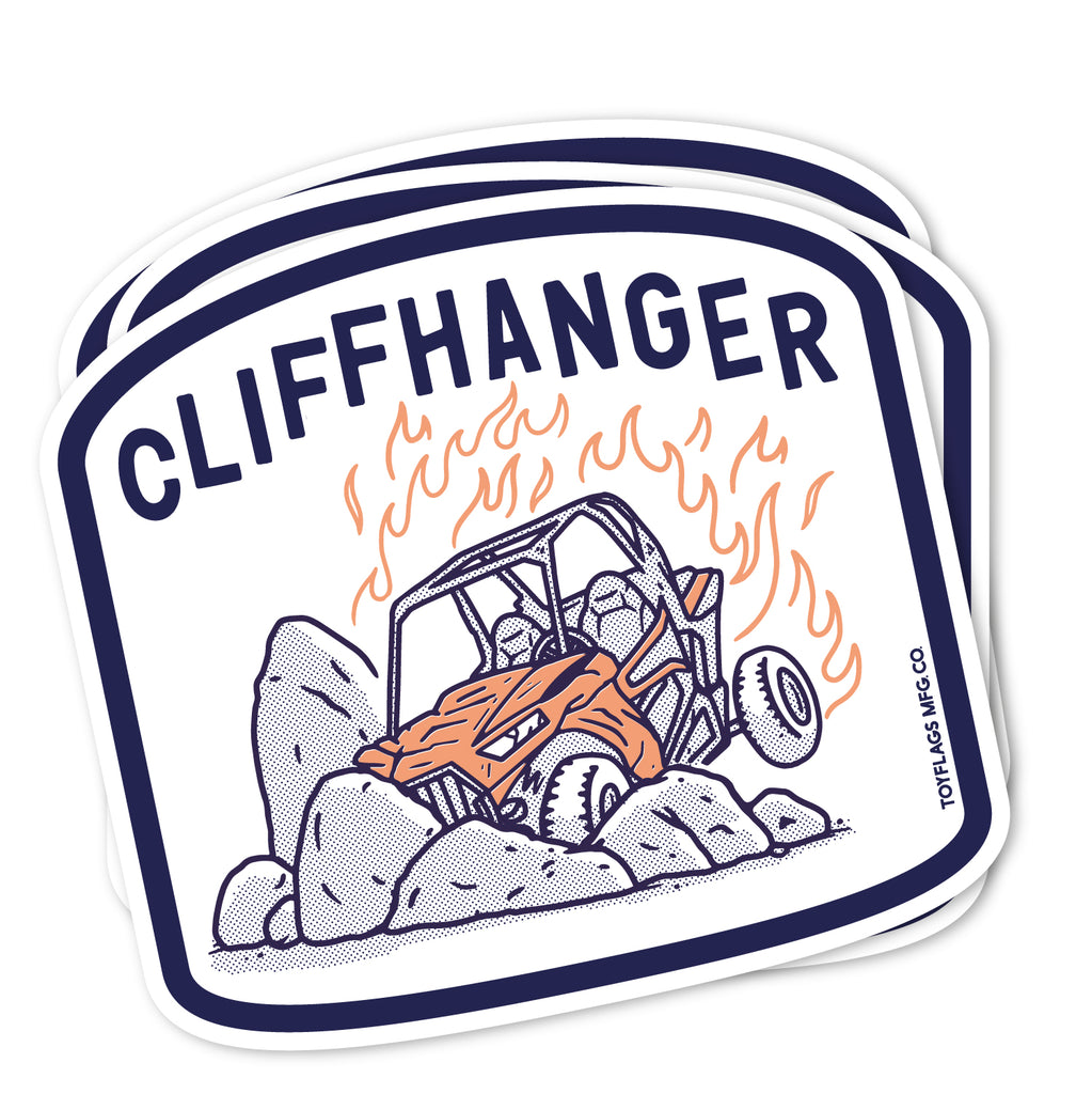 Cliffhanger Trail sticker