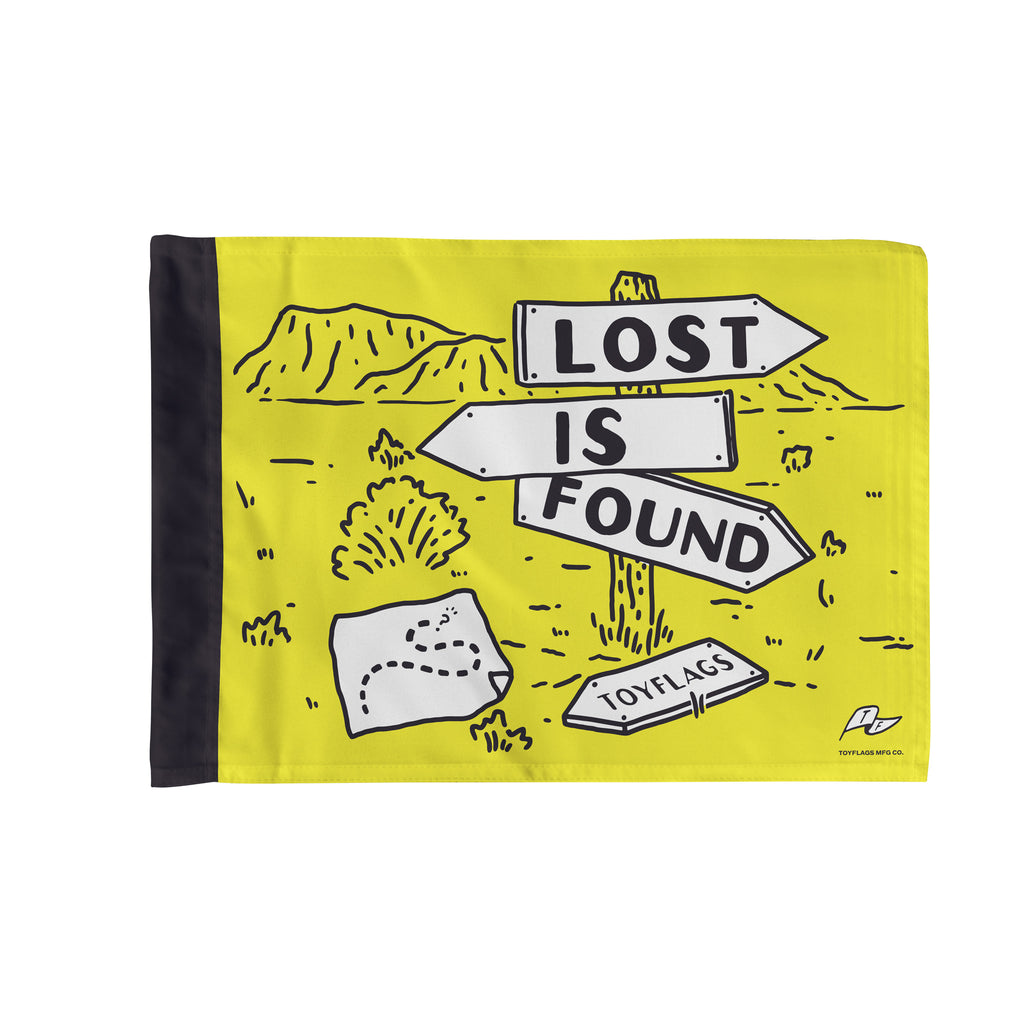 Lost is Found Flag