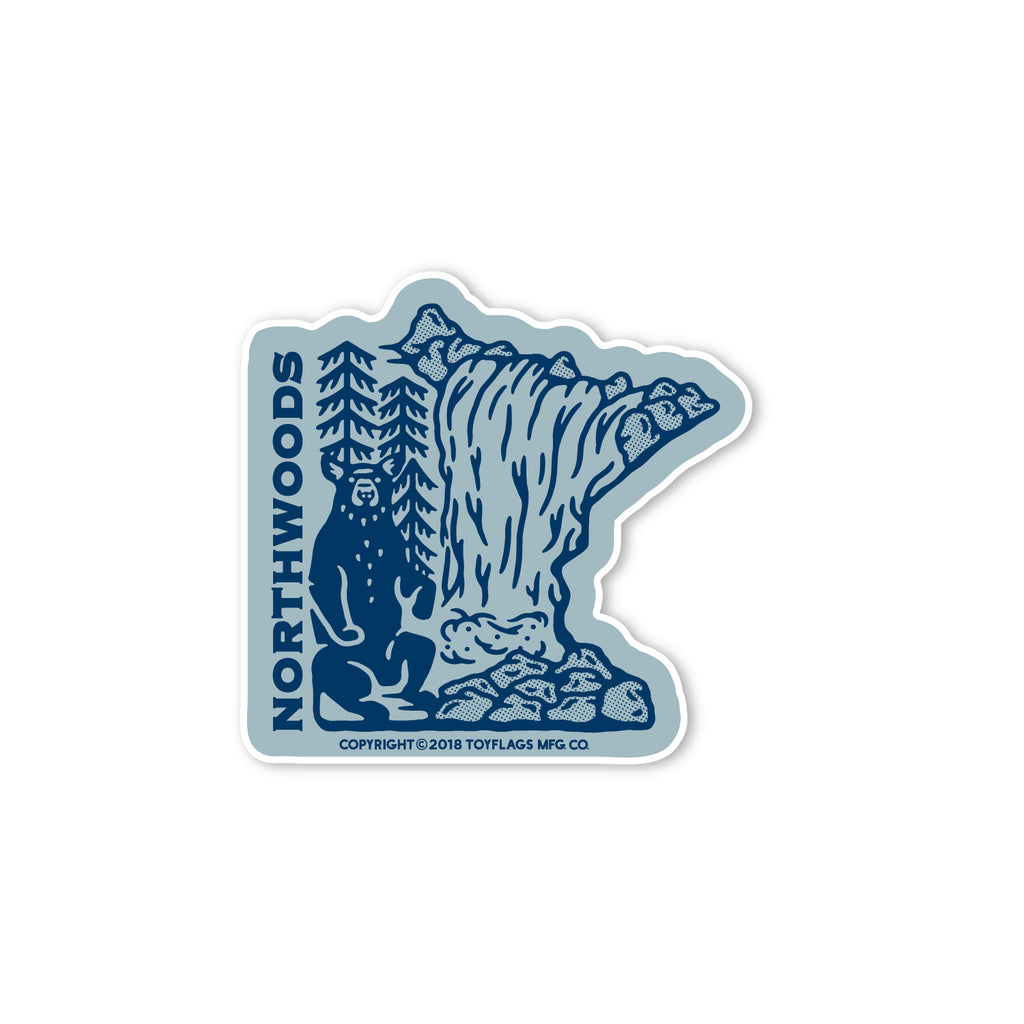 Minnesota Northwoods sticker