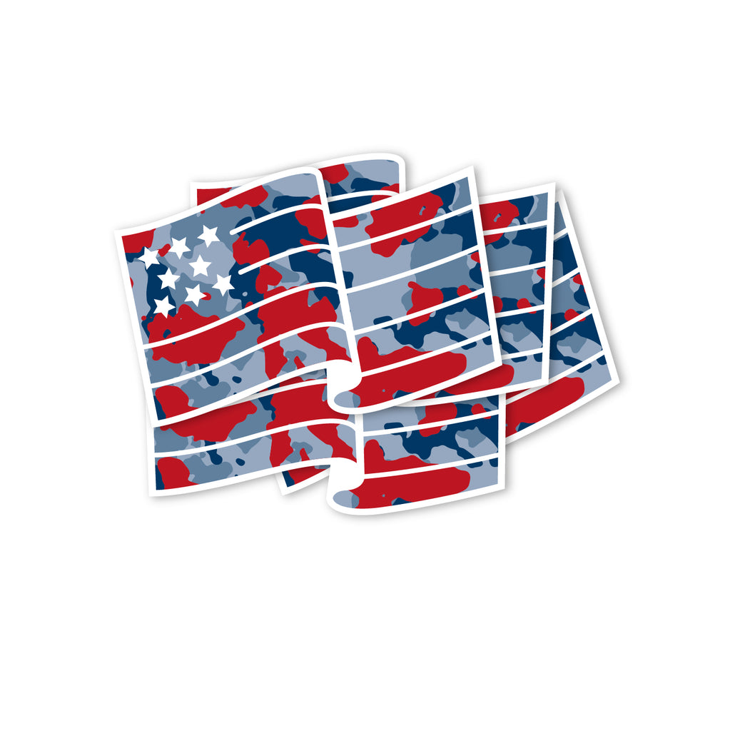 USA Camo sticker