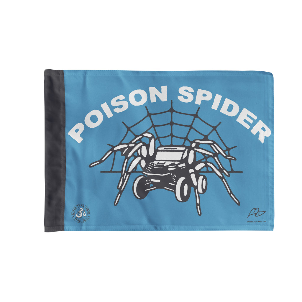 Poison Spider Trail Flag