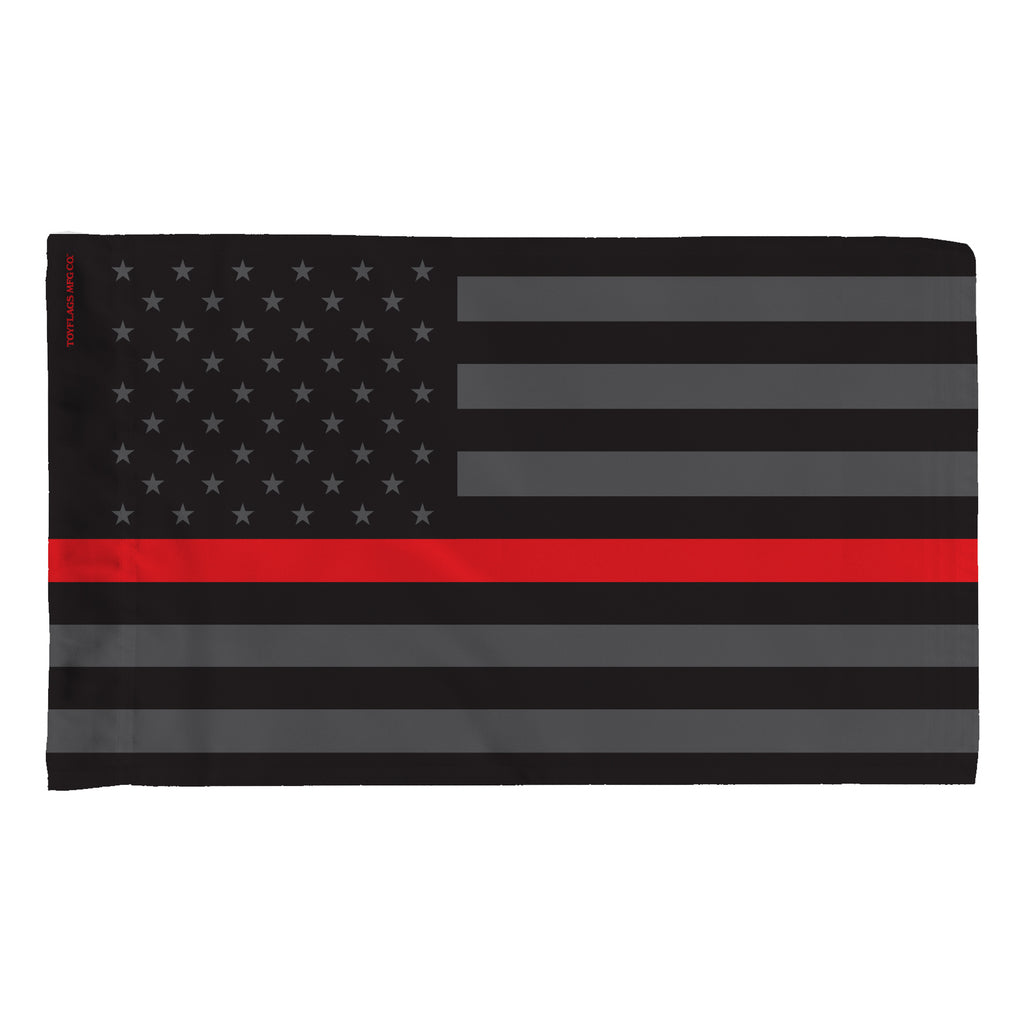 USA Thin Red Line in Gray