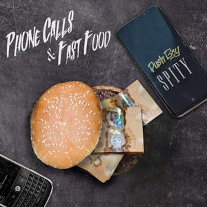 "Custom USB  ""Phone Calls & Fast Food"" - Mix Tape"