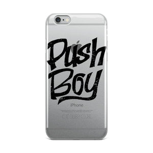 Push Boy iPhone Case (Black)