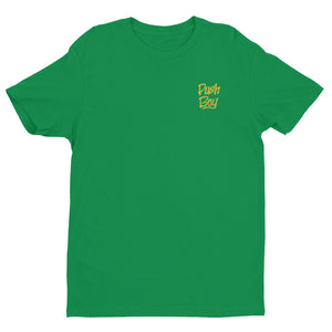 Push Boy Gold Print T shirt (Back & Front Print)