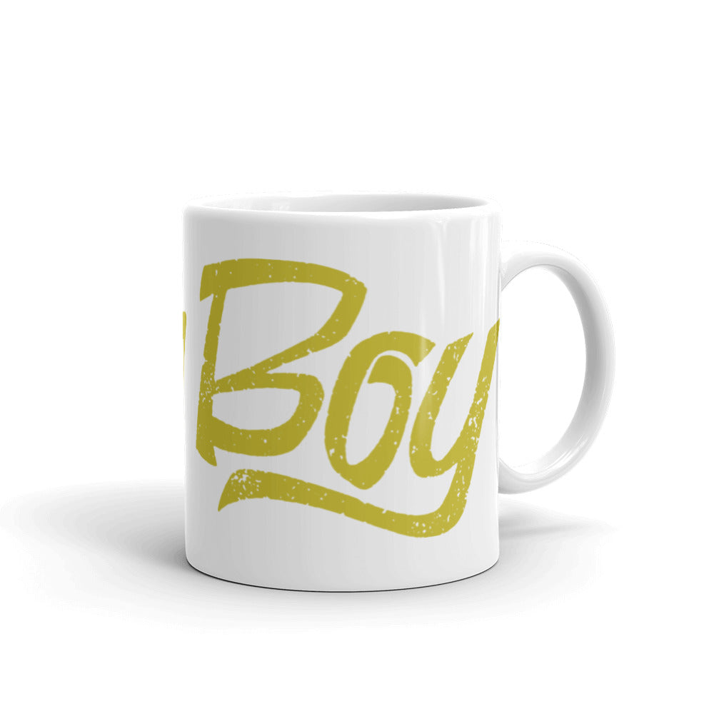 Push Boy Mug (Gold)