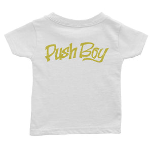 Push Boy Infant Tee (Back Print)