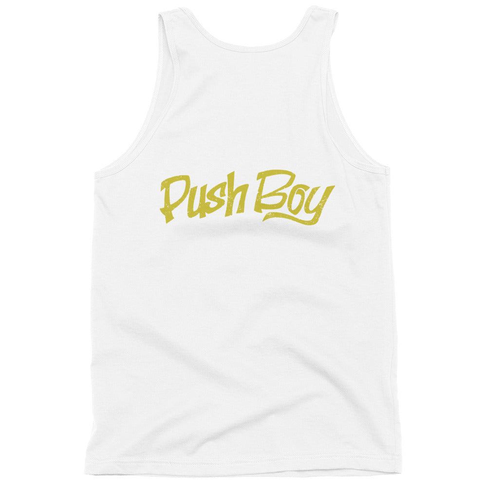 Women's Classic Push Boy tank top (Back Print)