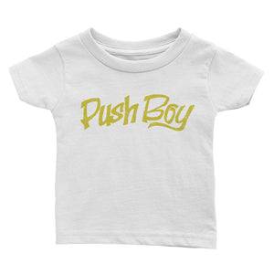 Push Boy Infant Tee (Front Print)