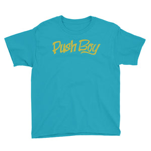 Unisex Push Boy Youth Short Sleeve T-Shirt (Front Print)