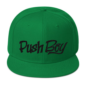 Push Boy Snapback (Black)