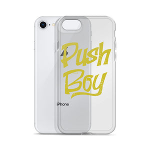 Push Boy iPhone Case (Gold)