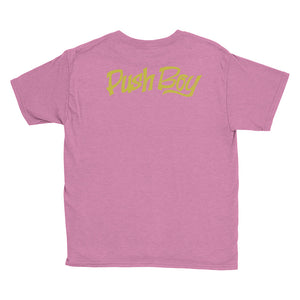 Unisex Push Boy Youth Short Sleeve T-Shirt (Back Print)