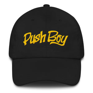 Push Boy Dad hat (Gold)