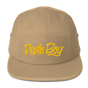 Push Boy Five Panel Cap (Gold)