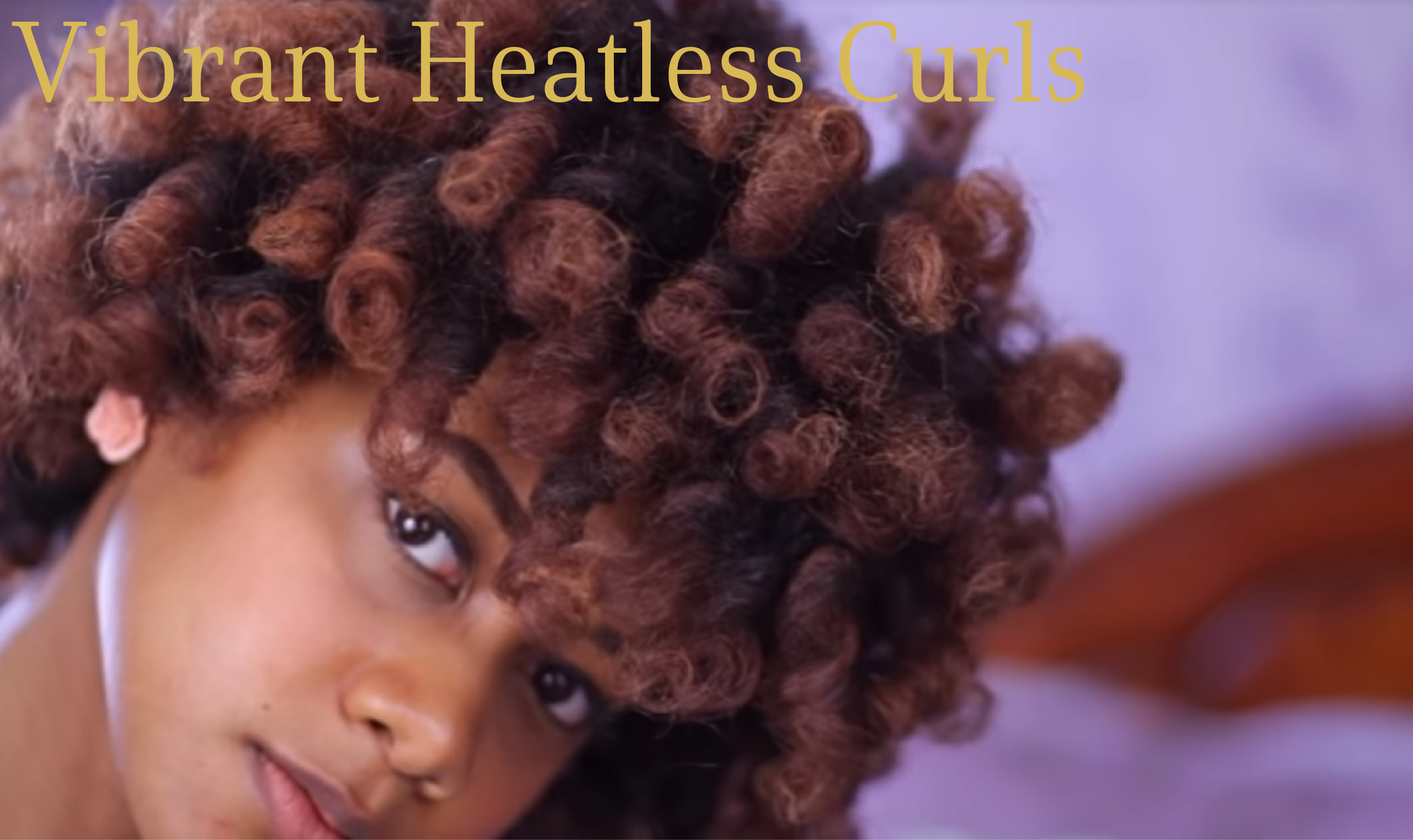How to Heatless Curl