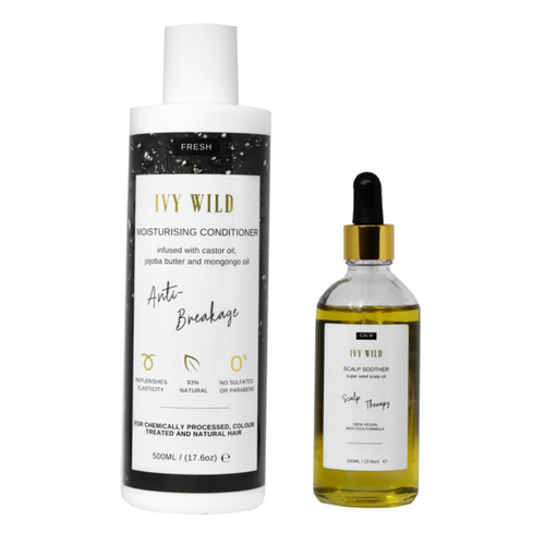 Ivy Wild - Co-Wash Set | Conditioner + Scalp Soother Oil