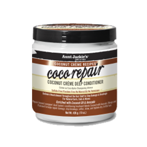 Aunt Jackies - Coconut Creme Recipes Coco Repair Deep Conditioner - 15oz
