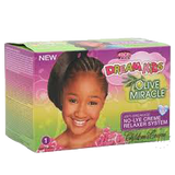 African Pride - Dream Kids Olive Miracle No-Lye Creme Relaxer System