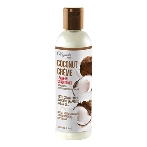 Africas Best - Coconut Creme Leave-In Conditioner - 8oz