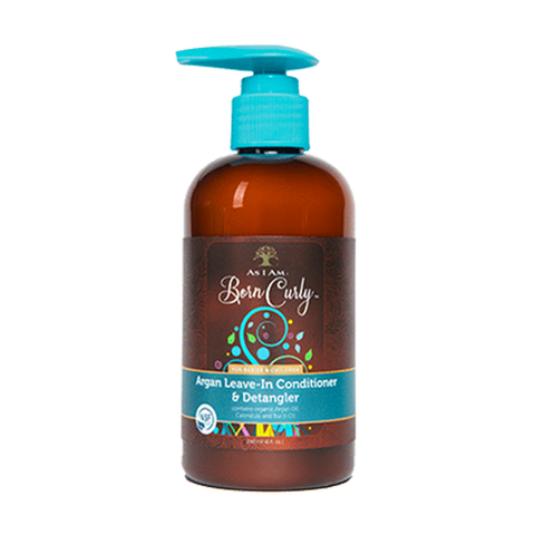 As I Am - Born Curly Argan Leave-In Conditioner & Detangler - 8 oz