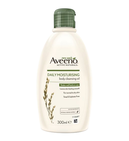 Aveeno - Daily Moisturising Body Cleansing Oil - 300 ml