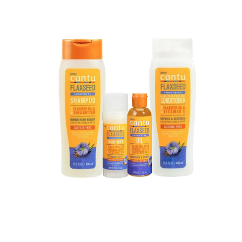 Cantu - Flaxseed Smoothing kit