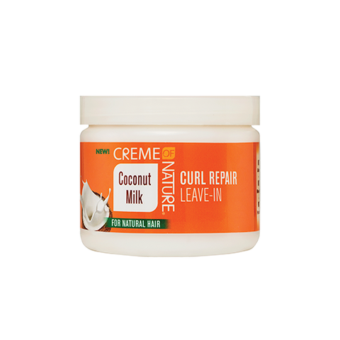Creme Of Nature - Coconut Milk Curl Repair Leave-in - 11.5oz