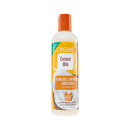 Creme Of Nature - Coconut Milk Detangling & Conditioning Conditioner - 12oz