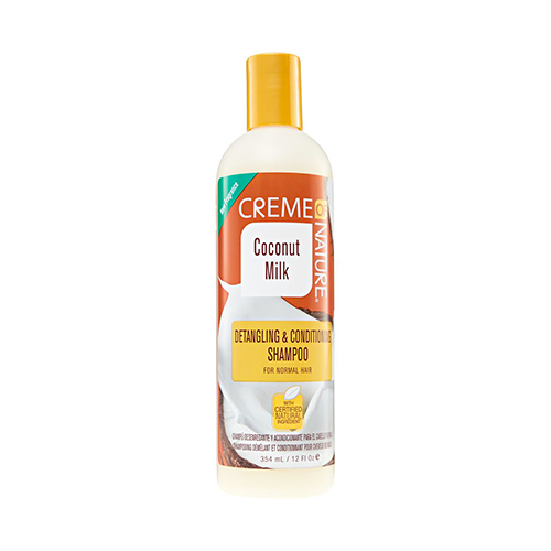 Creme Of Nature - Coconut Milk Detangling & Conditioning Shampoo - 12oz