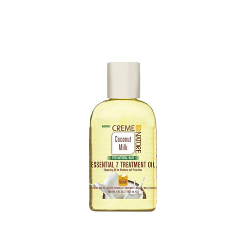 Creme Of Nature - Coconut Milk Essential 7 Treatment Oil - 4oz