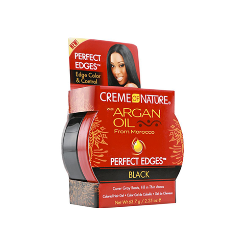 Creme of Nature - Argan Oil Perfect Edges Black - 2.25oz