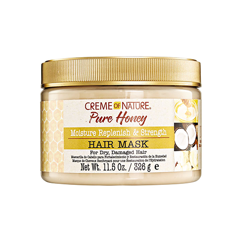 Creme of Nature - Pure Honey Moisture Replenish Strength Hair Mask - 11.5oz