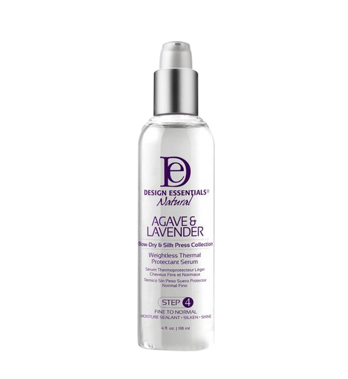 Design Essentials Agave & Lavender Weightless Thermal Protectant Serum - 4oz
