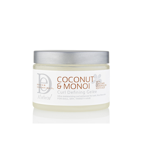 Design Essentials - Coconut & Monoi Curl Defining Gelée - 12oz