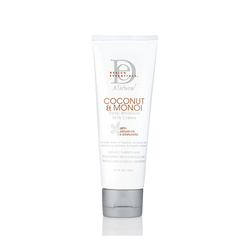 Design Essentials - Coconut & Monoi Deep Moisture Milk Creme - 4oz