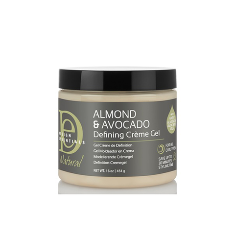 Design Essentials Almond Avocado Curl Defining Creme Gel 16oz