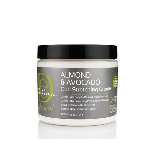 Design Essentials - Almond & Avocado Curl Stretching Cream - 16oz