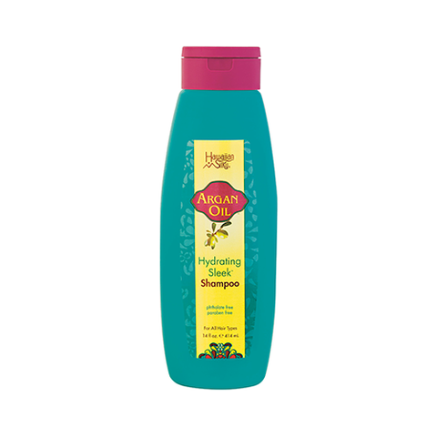 Hawaiian Silky - Argan Oil Hydrating Sleek Shampoo - 14oz